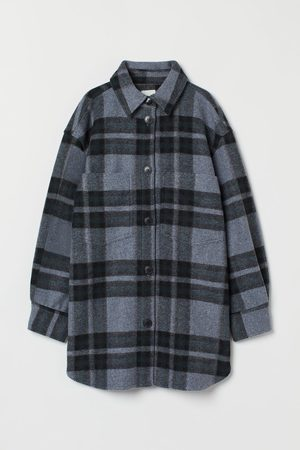 H & M Women Jackets - Felted Shirt Jacket