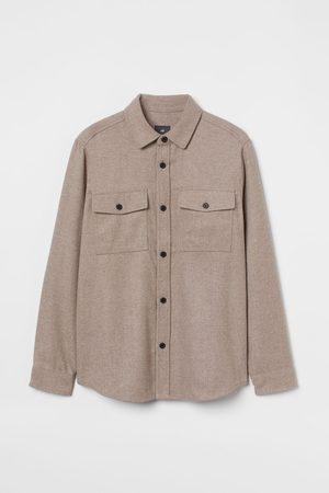 H & M Twill Shirt Jacket