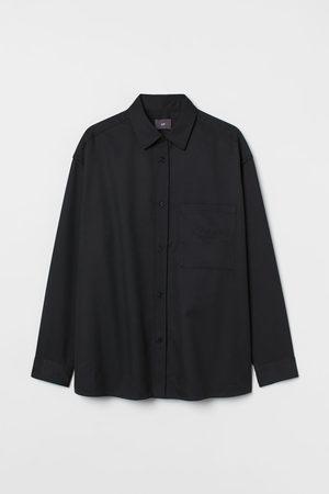 H & M Oversized Twill Shirt