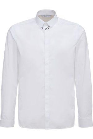 NEIL BARRETT Fair-isle Thunderbolt Shirt