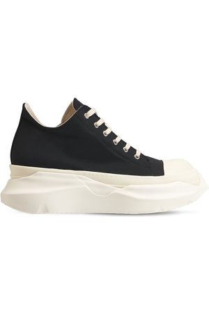 RICK OWENS DRKSHDW Drkshdw Abstract Cotton Faille Sneakers