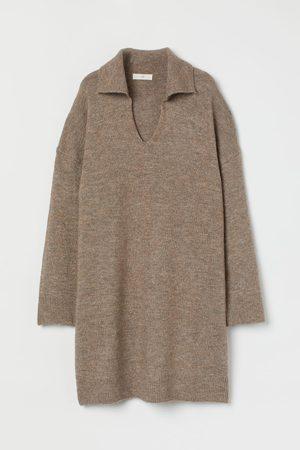 H & M Collared Knit Dress