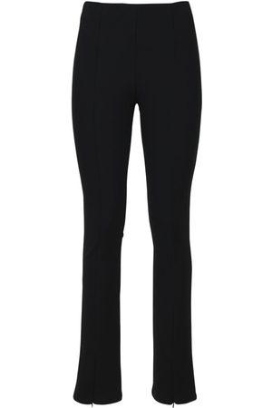 THE FRANKIE SHOP Reya Flare Stretch Jersey Leggings