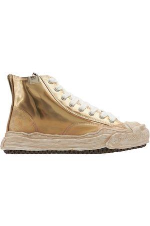 MIHARA YASUHIRO Original Sole Hank High Leather Sneakers