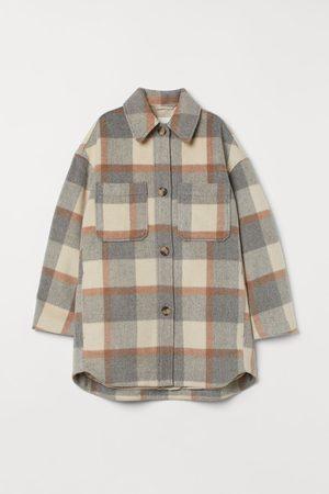 H & M Oversized Shirt Jacket