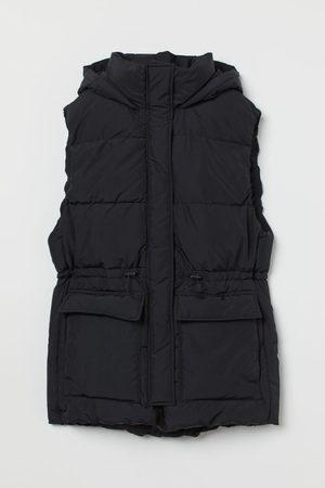 H & M Padded Hooded Vest