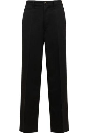 Marni Men Straight Leg Pants - Straight Leg Wool Pants