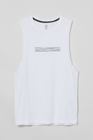 H & M Men Tank Tops - Relaxed Fit Sports Tank Top