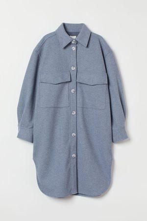 H & M Women Jackets - Long Shirt Jacket