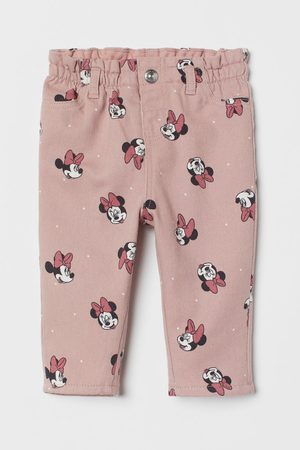 H & M Lined Printed Twill Pants