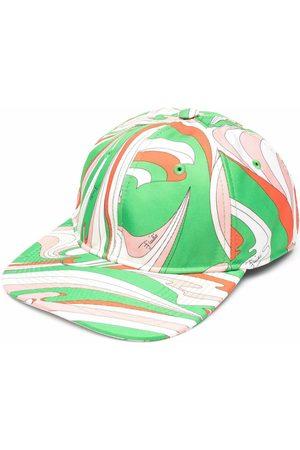 Emilio Pucci Women Caps - Vortici-print cap