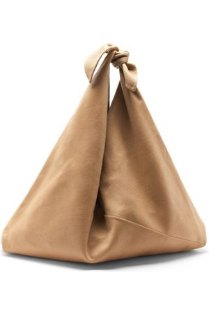 Gabriela Hearst Hildegard Knotted-strap Cashmere Tote Bag - Womens - Camel