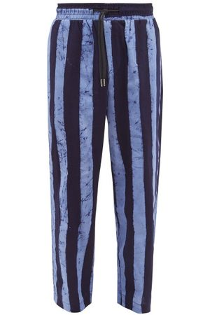 Post Imperial - Ikeja Striped Cotton Trousers - Mens