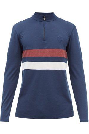 Iffley Road Men Sports Hoodies - Worthing Drirelease-piqué Sweatshirt - Mens - Navy