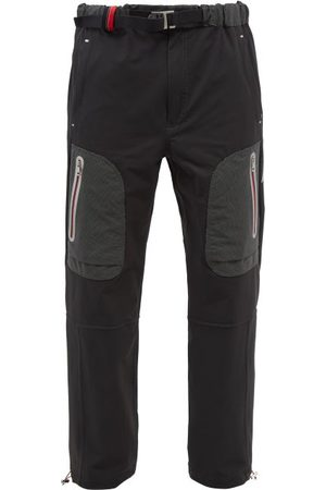2 Moncler 1952 Logo-print Stretch-shell Cargo Trousers - Mens