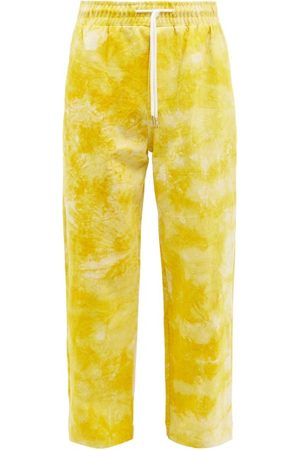 Post Imperial - Ikeja Tie-dyed Cotton Trousers - Mens
