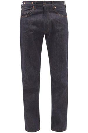 JUNYA WATANABE Men Straight - X Levi's Straight-leg Selvedge-denim Jeans - Mens - Navy