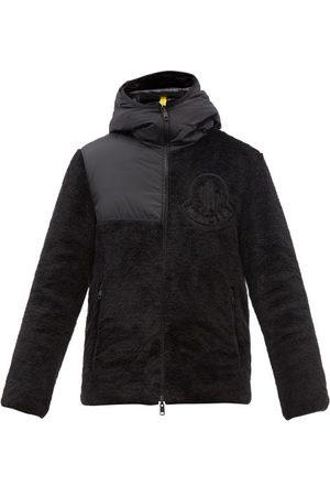 Moncler Men Fleece Jackets - Hamura Reversible Quilted Down And Fleece Coat - Mens