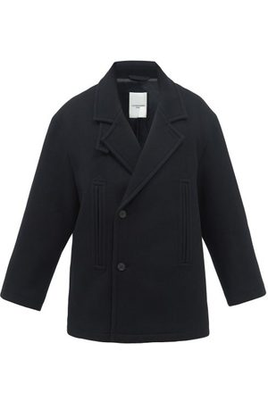 Le17septembre Homme Double-breasted Wool-blend Peacoat - Mens