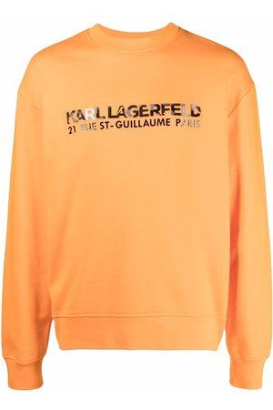 Karl Lagerfeld Men Sweatshirts - Kamo logo-print sweatshirt