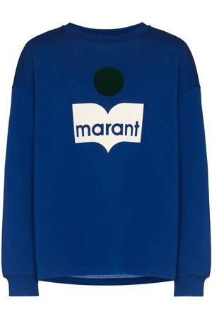 Isabel Marant Men Sweatshirts - Menjiri crew-neck sweatshirt