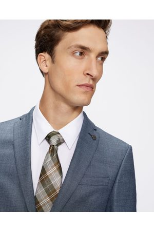 Ted Baker Men Pocket Squares - Check Woven Tie