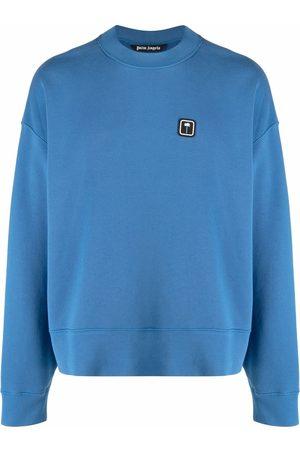 Palm Angels Sweatshirts - PXP logo-patch T-shirt