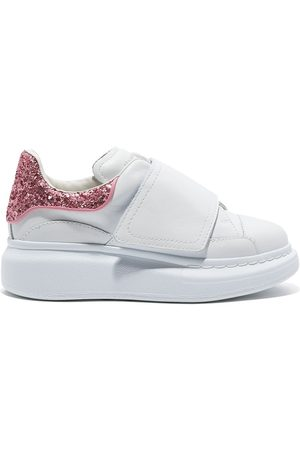 Alexander McQueen Glitter heel counter sneakers