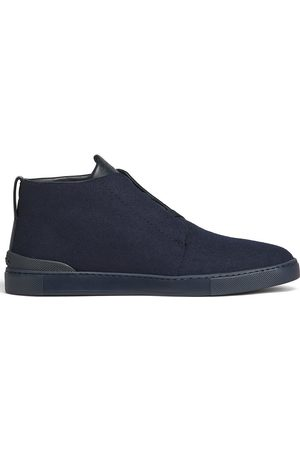 Ermenegildo Zegna Men Ankle Boots - Wool ankle-length boots