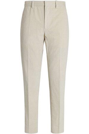Ermenegildo Zegna Tailored corduroy trousers - Grey