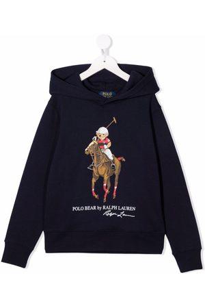 Ralph Lauren Kids Boys Hoodies - Polo Pony long-sleeve hoodie