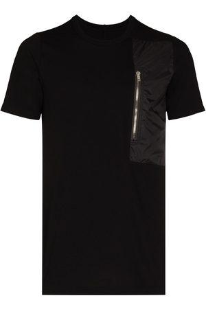 Rick Owens Men T-shirts - Pocket Level cotton T-shirt