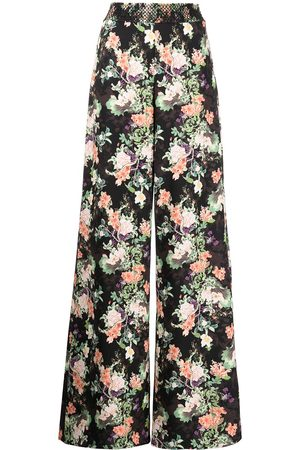 Alice+Olivia Athena wide-leg trousers - Multicolour