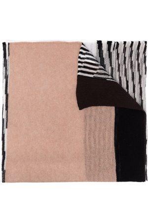 Missoni Women Scarves - Colour-block cashmere scarf