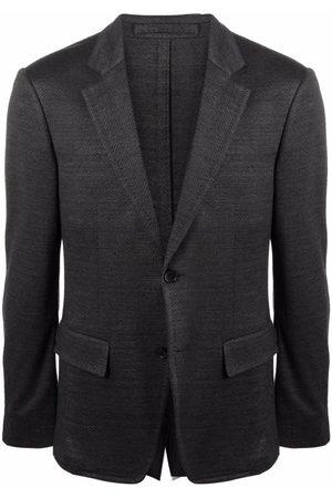 Salvatore Ferragamo Single-breasted tailored blazer - Grey