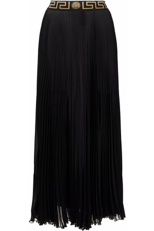 VERSACE Greca-trim maxi skirt - 1B000