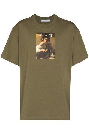 Off-White Men T-shirts - Caravaggio print T-shirt
