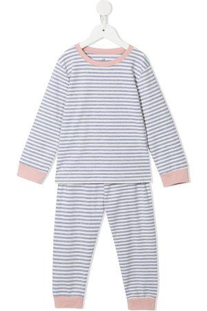 Morgan Lane Mini Girls Pajamas - Striped pyjama set - Grey
