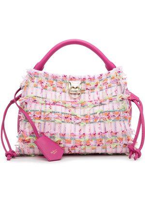 Mulberry Women Tote Bags - Iris woven top-handle tote bag