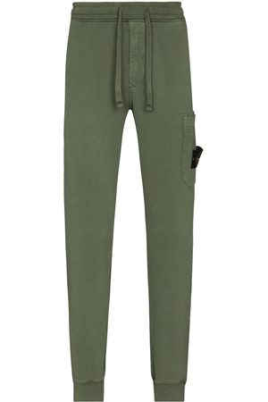 Stone Island Men Sweatpants - Tapered drawstring track pants