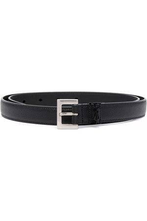 Saint Laurent Men Belts - Logo detail belt