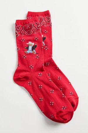 Polo Ralph Lauren Bandana Bear Crew Sock