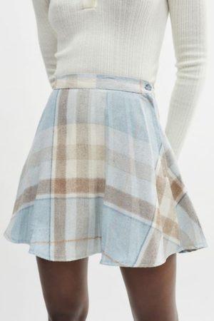 Urban Renewal Women Mini Skirts - Recycled Plaid A-Line Mini