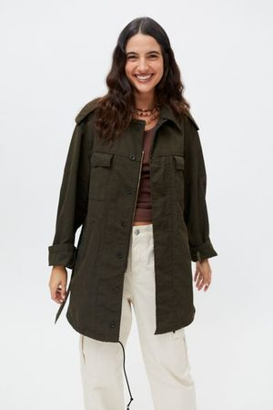 Urban Women Jackets - Recycled Overdyed Surplus Jacket