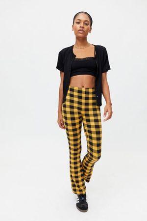 Urban Renewal Women Pants - Remnants Gingham Check Cozy Pant