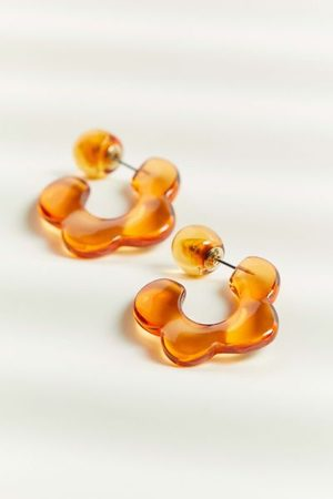 Urban Outfitters Women Hoop - Glass Icon Hoop Earring