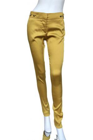 Gianfranco Ferré Silk slim pants