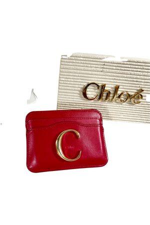 Chloé Women Wallets - C leather wallet