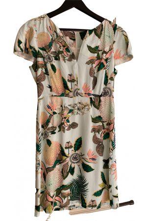 By Malina Silk mini dress