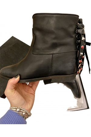 Jucca Leather biker boots